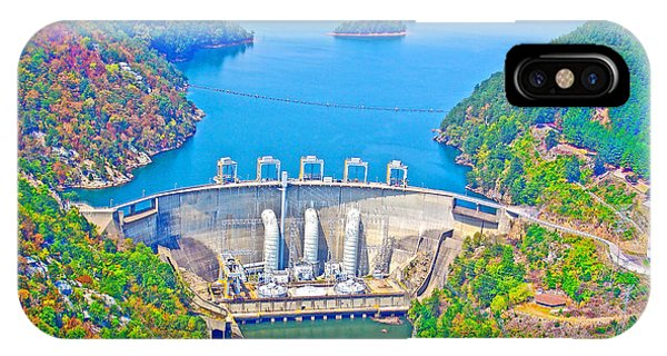 Smith Mountain Lake Dam IPhone Case