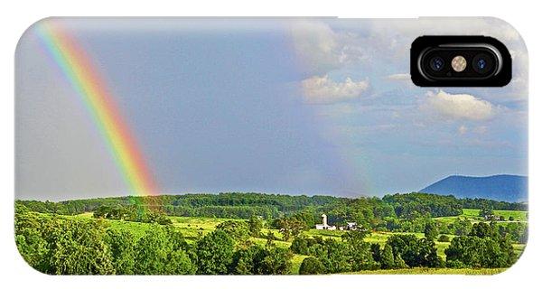 Smith Mountain Lake Rainbow IPhone Case