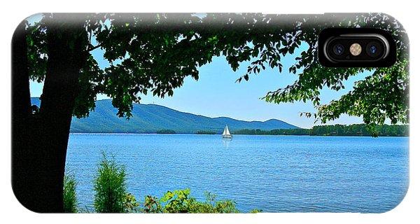 Smith Mountain Lake Sailor IPhone Case