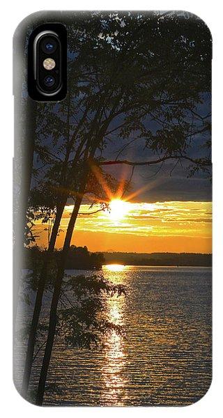 Smith Mountain Lake Summer Sunet IPhone Case