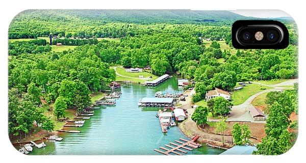Smith Mountain Lake, Virginia. IPhone Case