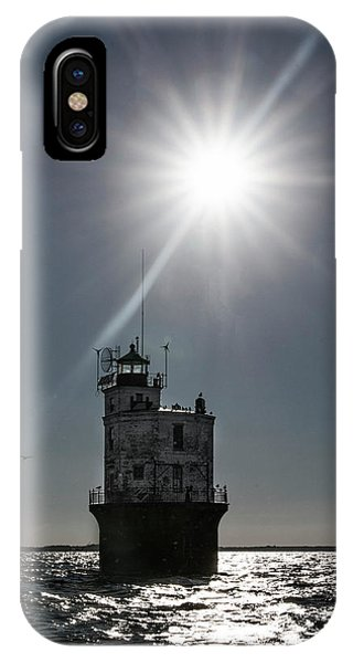 Smith Point Lighthouse IPhone Case