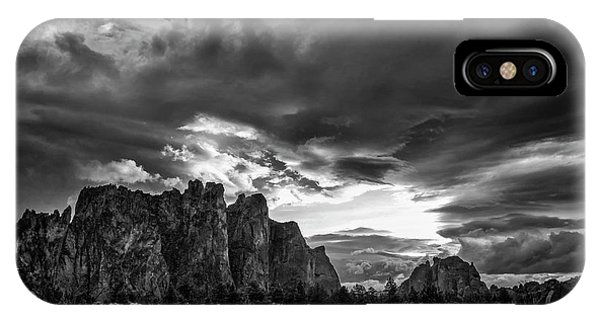 Smith Rock Fury IPhone Case