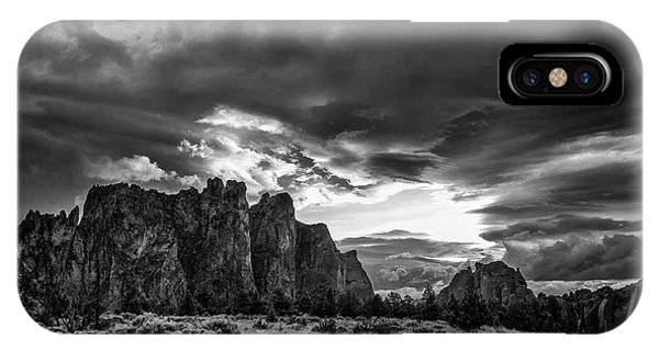 Smith Rock Fury IPhone Case