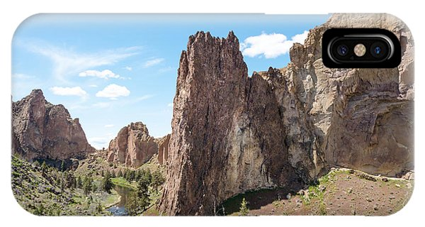 Smith Rock State Park Pathway IPhone Case