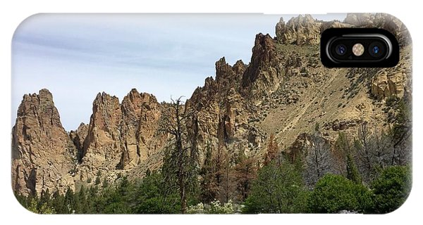 Smith Rocks IPhone Case