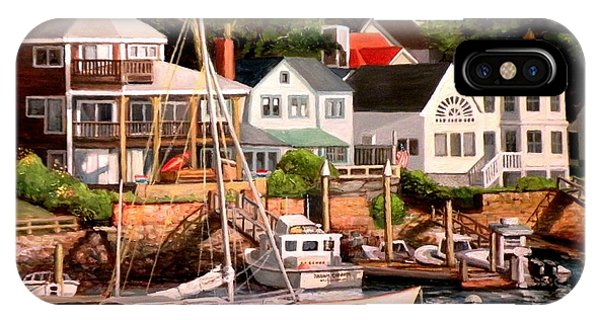 Smiths Cove Gloucester IPhone Case