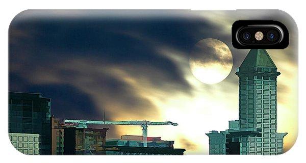 Smithtower Moon IPhone Case