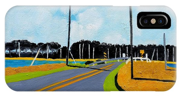 Smithville Boat Ramp Phone Case by Lesley Giles