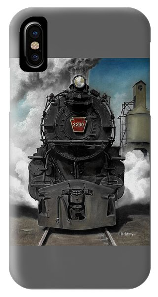Transportation iPhone Case - Smoke And Steam by David Mittner