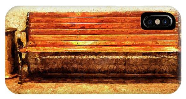 Smoker's Bench IPhone Case