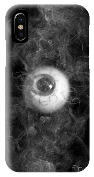Smoke Fantasy iPhone Case - Smokey Eye by Edward Fielding