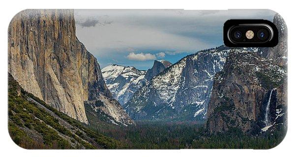 Smokey Yosemite Valley IPhone Case
