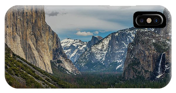 Smokey Yosemite Valley IPhone Case