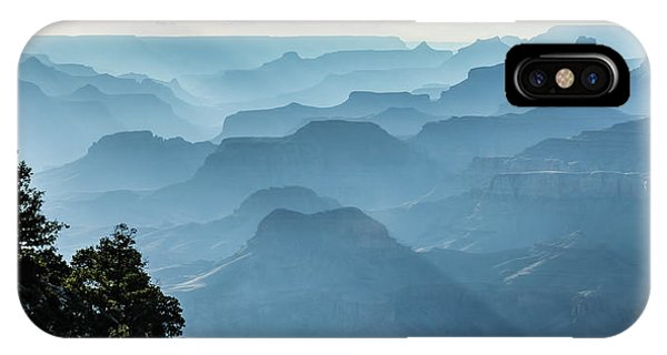 IPhone Case featuring the photograph Smoky Canyons by Steven Sparks