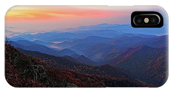 Dawn From Standing Indian Mountain IPhone Case