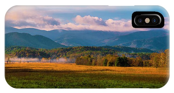 Smoky Mountains At Cades Cove I IPhone Case