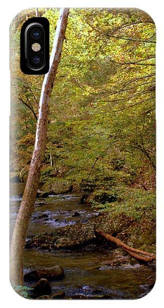 Smoky Mountains River IPhone Case