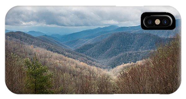 Smoky Mountains IPhone Case