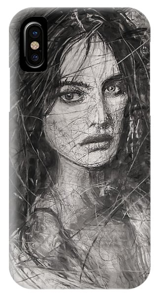 Smoky Noir... Ode To Paolo Roversi And Natalia Vodianova  IPhone Case