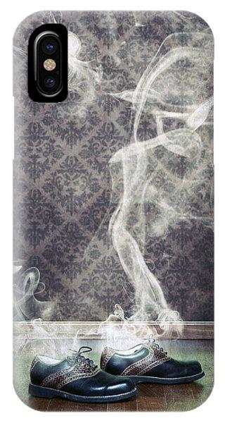 Golf iPhone Case - Smoky Shoes by Joana Kruse