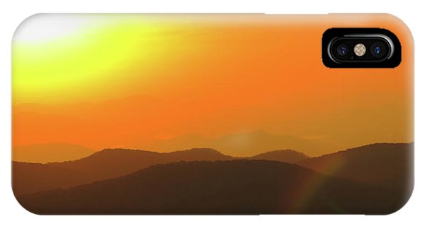 Smoky Sunset  IPhone Case