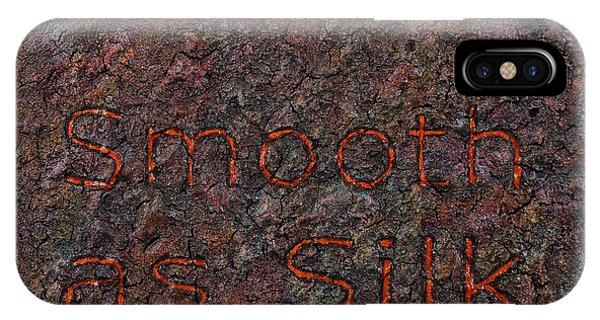 Texture iPhone Case - Smooth As Silk by James W Johnson