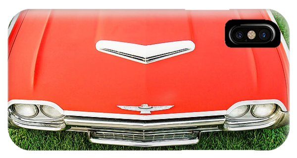 Auto Show iPhone Case - Smooth Red by Todd Klassy