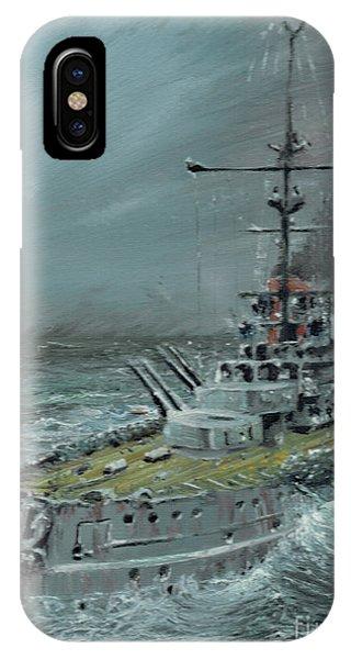 Sms Friedrich Der Grosse At Jutland 1916 IPhone Case