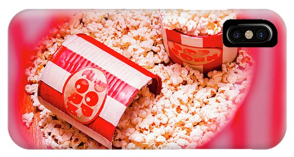 Container iPhone Case - Snack Bar Pop Corn by Jorgo Photography - Wall Art Gallery