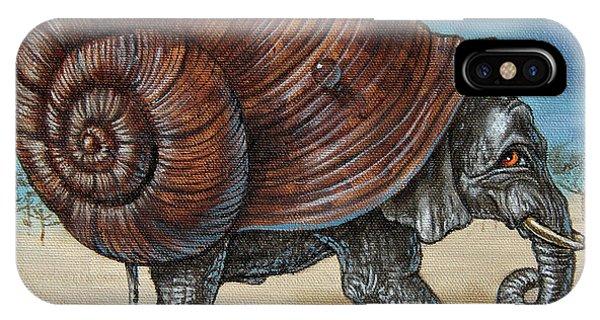 Snailephant IPhone Case
