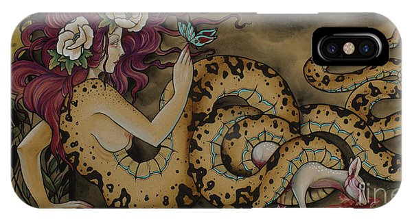Snake Lady IPhone Case