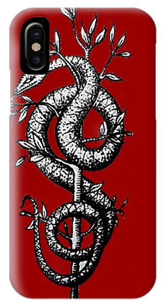 Snake Of Wisdom IPhone Case