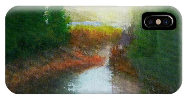 Snake River Canoe Trip IPhone Case