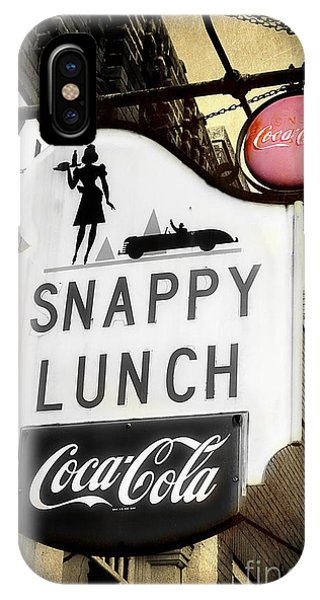 Snappy Lunch IPhone Case