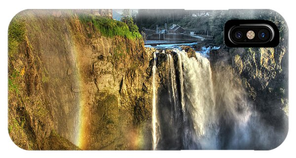 Snoqualmie Falls, Washington IPhone Case