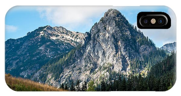 Snoqualmie Mountain IPhone Case