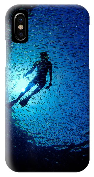 Snorkeler IPhone Case