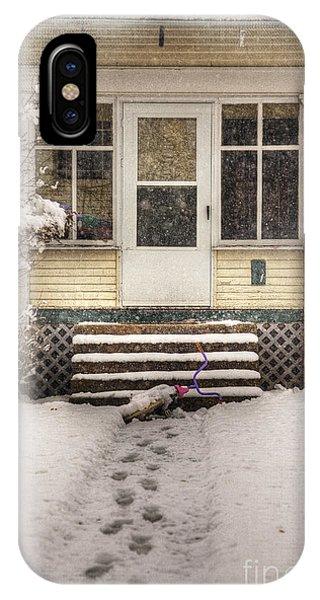 Snow 203 Door IPhone Case