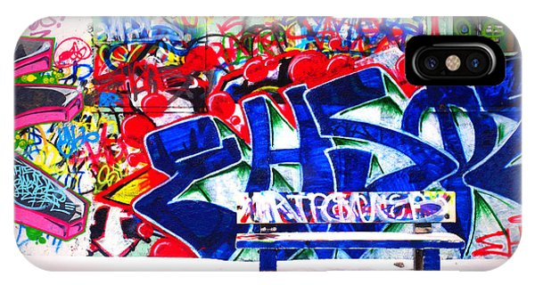 Snow And Graffiti IPhone Case
