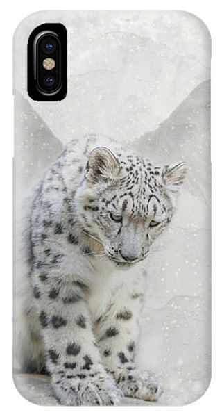 Snow Angel IPhone Case