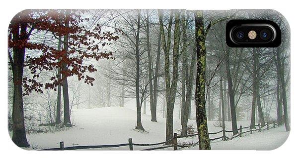 Snow Begins IPhone Case