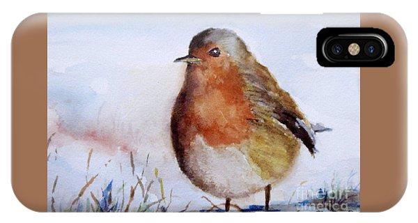 Snow Bird IPhone Case