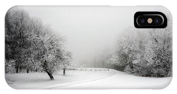 Snow Bound IPhone Case