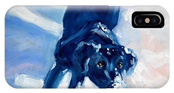 Snow Boy IPhone Case