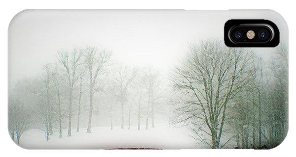 Snow Bridge IPhone Case