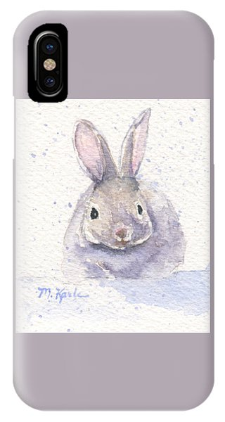 Snow Bunny IPhone Case