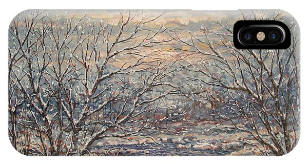 Snow By Brook. IPhone Case