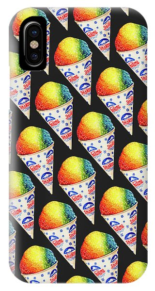 Cosmetic iPhone Case - Snow Cone Pattern by Kelly Gilleran