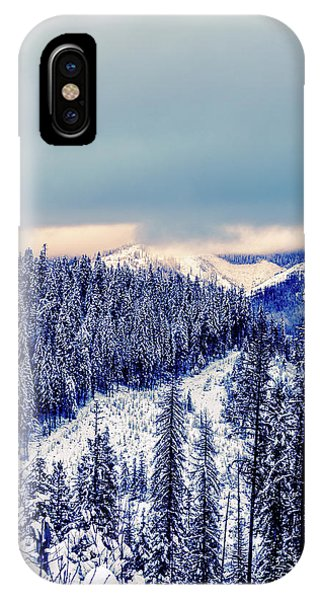 Snow Covered Mountains IPhone Case